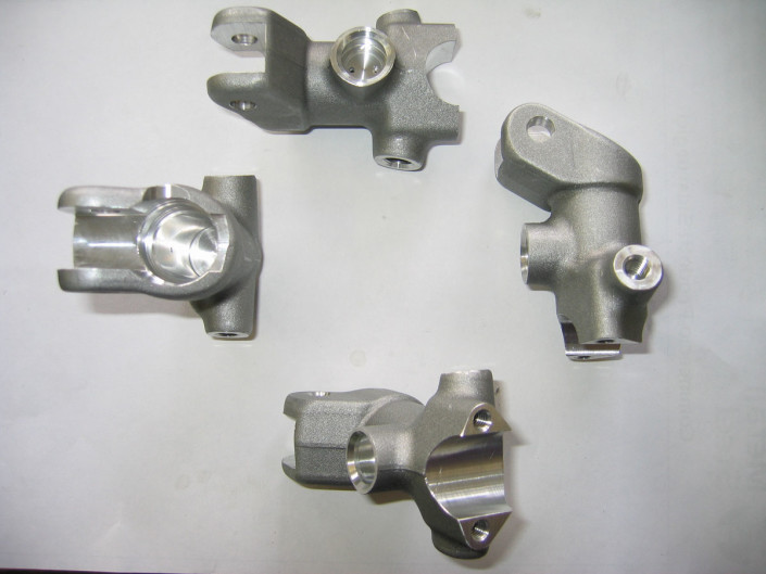 Milled brake master cylinder bodies for motorcycles
